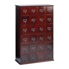 leslie dame leslie dame 288 cd storage cabinet in cherry media storage - Cd Storage Cabinet