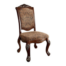 Cromwell BM131179 Traditional Side Chairs, Cherry, Set of 2