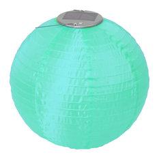 Soji LED Solar Lanterns, Mint