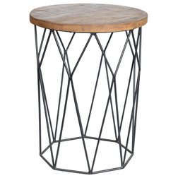 Industrial Side Tables And End Tables by Kosas