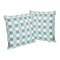 GDF Studio Pendry Outdoor Water Resistant Square Pillow, Set of 2