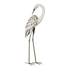 Regal Egret Decor, Preening