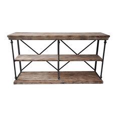 Autumn-Elle Designs Galo Metal And Wood Sideboard/Server
