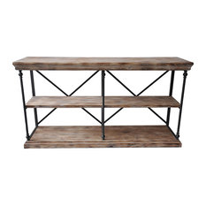 Best Industrial Coffee And Accent Tables Houzz