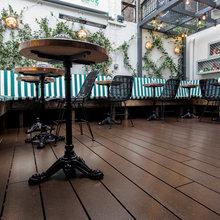 Eco-friendly restaurant flooring