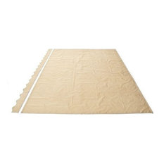Fabric Replacement 12'x10' for Retractable Awning, Sand