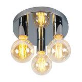 Ceiling Lamp Facil 3 Chrome