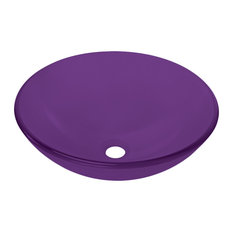 Bathroom Vanity Sink Round Bowl sink, Purple