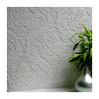 Anaglypta High Trad Paintable Textured Vinyl Wallpaper, Bolt