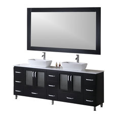 Modern Bathroom Vanity Model Porto 880 With Mirror