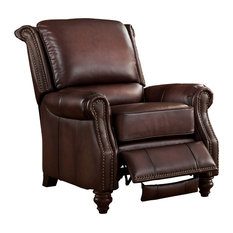 amax leather 100 leather recliner brown recliner chairs u0027
