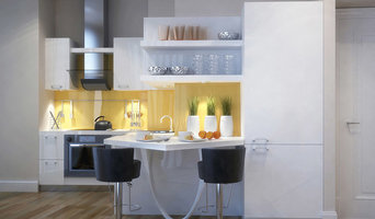 Light kitchen space