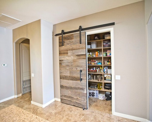 Sliding Barn Door Tobacco Barn Grey Pantry Door : 9cc1cefe066c8d594680 w500 h400 b0 p0 contemporary from www.houzz.com size 500 x 400 jpeg 30kB