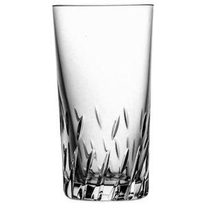 Lead Crystal Tumbler Glasses With Original Cut, Set of 6