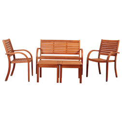 Ideal Contemporary Outdoor Side Tables by International Home Miami Corp