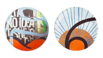 Street Art Wall Plates