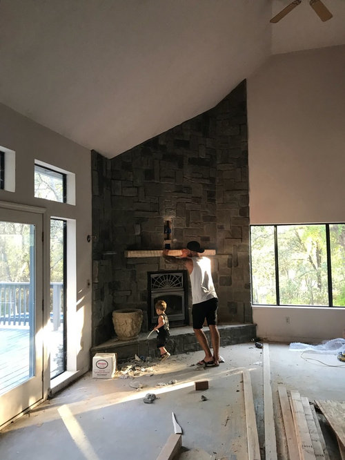 Should We Paint Our Stone Fireplace White