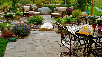 Outdoor dining and entertaining spaces