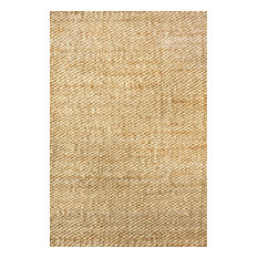 Nuloom 10'x14' Hand Woven Hailey Jute Rug, Natural