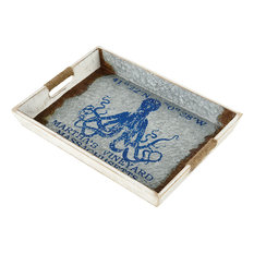 STERLING 351-10580 Vineyard Ferry Octopus Tray