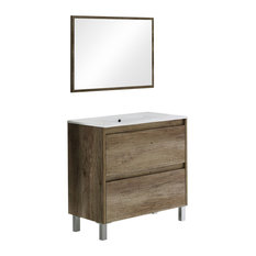 FORES - Dakota Bathroom Vanity Unit, 80 cm - Bathroom Vanity Units & Sink Cabinets