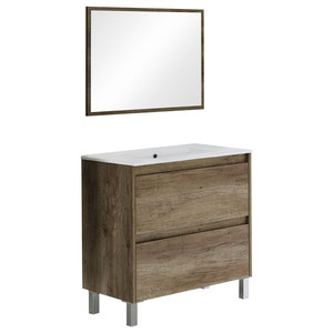 Dakota Bathroom Vanity Unit, 80 cm