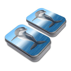 Flippin for Dolphins Tin Set