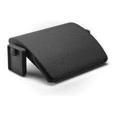 Adjustable Foot Rest By Steelcase Black