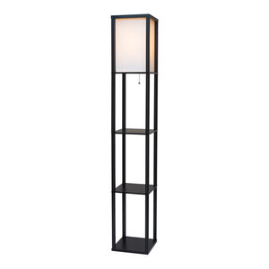 64 5 Quot H Bhavya Floor Lamp Contemporary Floor Lamps By