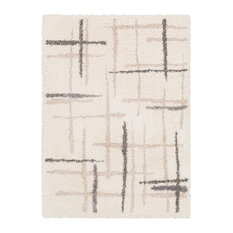 Fanfare Area Rug in Neutral And Neutral