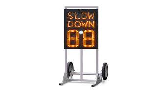 Radar speed signs