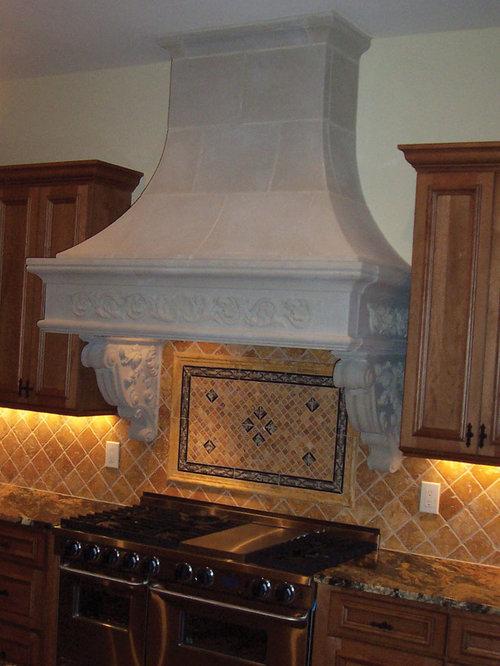 Cast Stone Kitchen Range Hoods