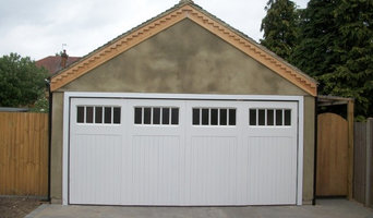 SPECIAL TIMBER GARAGE DOOR FITTED IN KINGSTON UPON THAMES