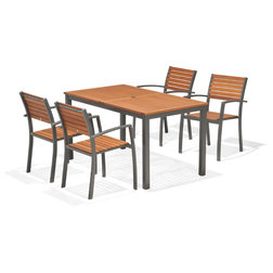 Contemporary Outdoor Dining Sets by Houzz