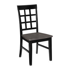 Salem Window Pane Dining Chairs, Set of 2