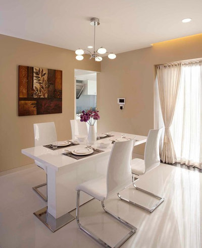 Modern Dining Room by DESIGN ECOVATION