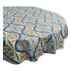 Tablecloth in Cypress, Round