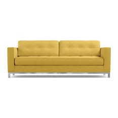 Apt2b Fillmore Queen Size Sleeper Sofa Memory Foam Mattress Gold Sectional Sofas