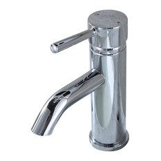 Luxier Lead-Free Bathroom Sink Faucet, Chrome