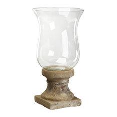 Glass Candleholder, Medium