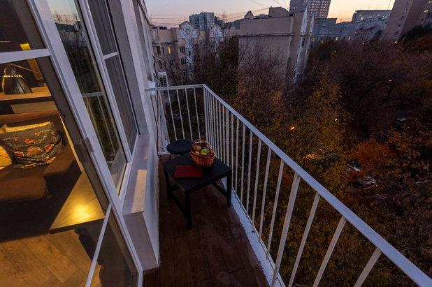 Скандинавский Балкон и лоджия by Buro Brainstorm