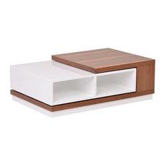 La Viola Decor - Zoom Glossy Modern Coffee Table S - Coffee Tables