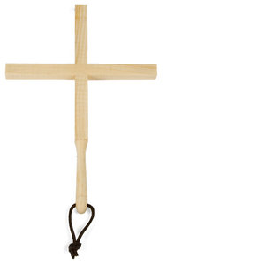 Zas Wooden Trivet, Cross