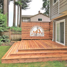 Boxed Deck Steps