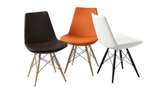 Electra Dowel Chairs by MobiliModern