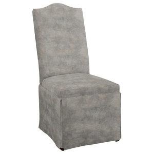 Hekman Woodmark Meryl Dining Chair, Very Light Black