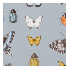 Papilio Wallpaper, Mineral and Silver