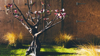 Freestanding Magnolia Tree Sculpture