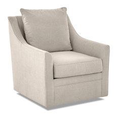 Swivel Chair in Benavento Linen