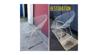 Bertoia Diamond Chair Restoration